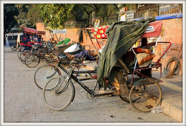 Bicycle taxis