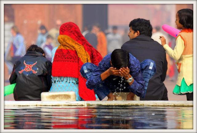 Jama Masjid water source