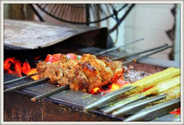 Tasty treats at Karim's in Old Delhi