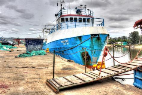 Trawlers Wharf, Bluff