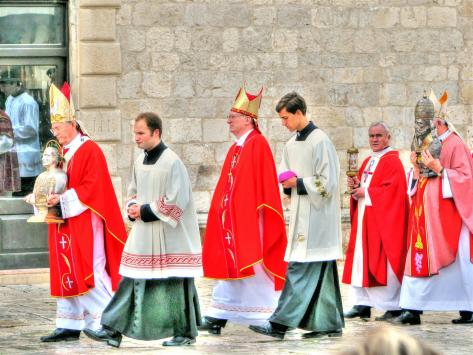 ceromonies & processions in croatia (7)
