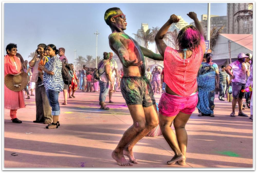 Holi Festival of Colours, Durban South Africa (2/6)