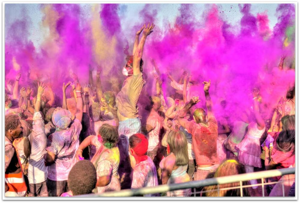 Holi Festival of Colours, Durban South Africa (1/6)