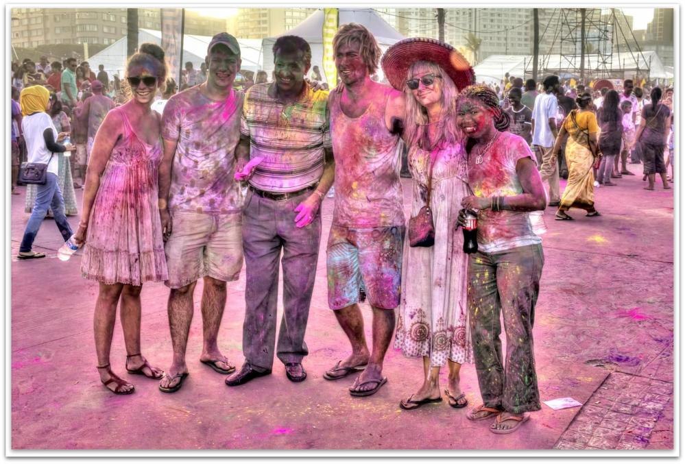 Holi Festival of Colours, Durban South Africa (6/6)