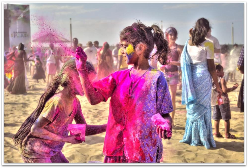 Holi Festival of Colours, Durban South Africa (5/6)