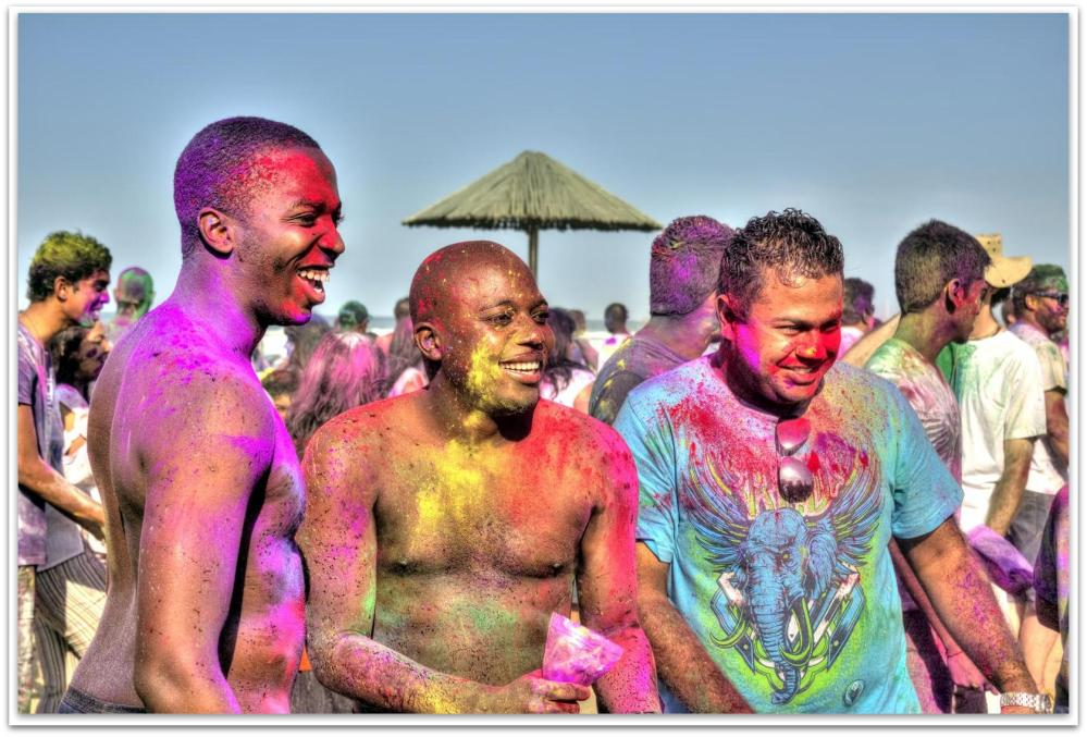 Holi Festival of Colours, Durban South Africa (3/6)