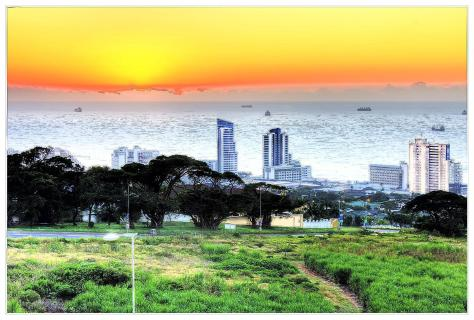holiday inn umhlanga sunrise poster 2(Large) (Large).tif