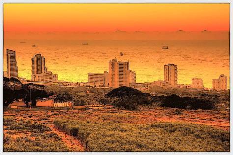 sunrise umhlanga poster (Large) (Large)
