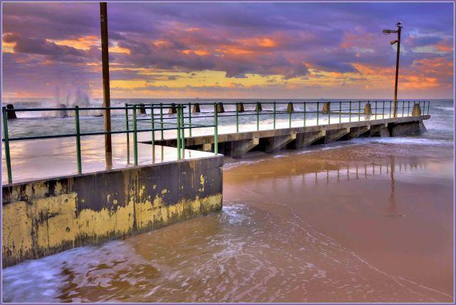 B Beach tidal pool_