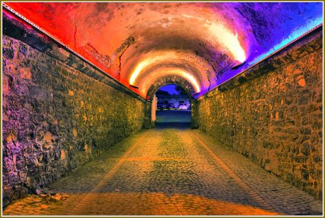 Serbathane tunnel  to Hagia Sophia