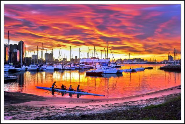 Point Yacht Mole sunrise 17-8-2013 (Large)