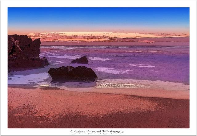 Tiger Rocks Painting 16-2-14 (Large)