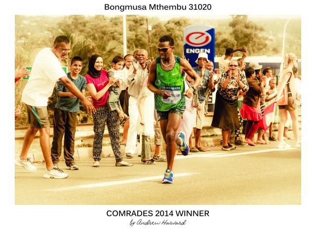 Comrades 2014 Winner