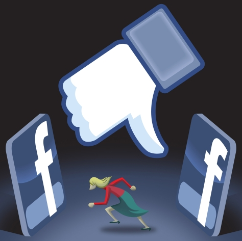 ILLUSTRATION: Escaping Facebook