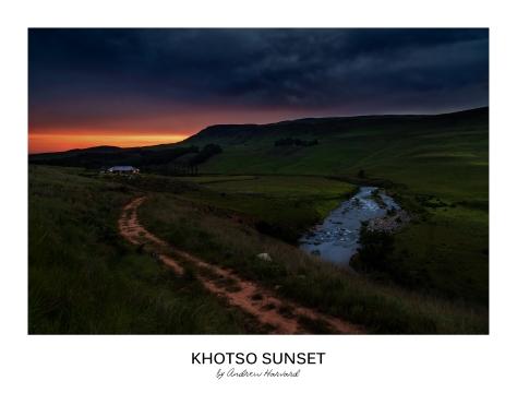 Khotso Sunset