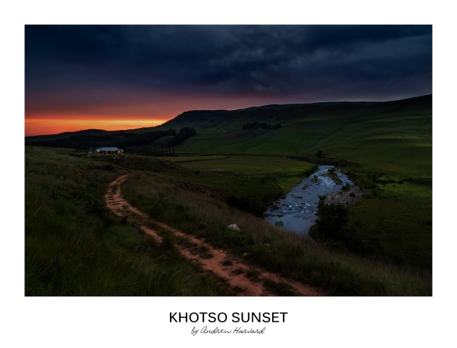 Khotso Sunset