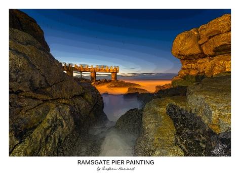Ramsgate Pier Painting
