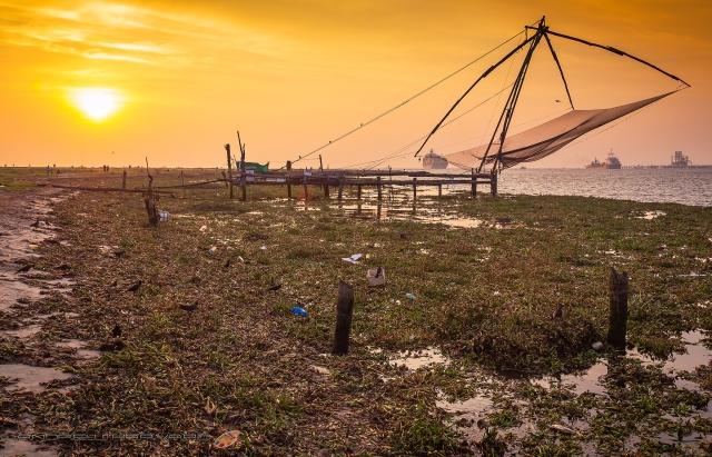 Sunset Fort Cochin